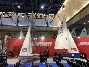 At the RYA Dinghy Show 2019 on Set up Friday